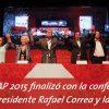 Latin American political ecology according to the Progresistas Bolivarianos